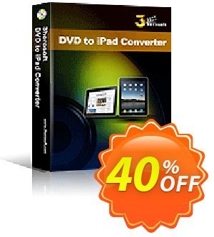 3herosoft DVD to iPad Converter Coupon, discount 3herosoft DVD to iPad Converter Big promo code 2020. Promotion: Big promo code of 3herosoft DVD to iPad Converter 2020