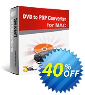 3herosoft DVD to PSP Converter for Mac discount coupon 3herosoft DVD to PSP Converter for Mac Amazing sales code 2020 - Amazing sales code of 3herosoft DVD to PSP Converter for Mac 2020