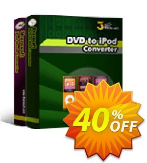 3herosoft DVD to iPod Suite Coupon, discount 3herosoft DVD to iPod Suite Staggering discount code 2020. Promotion: Staggering discount code of 3herosoft DVD to iPod Suite 2020