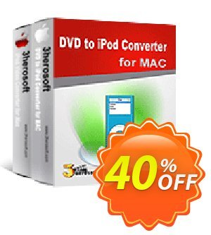 3herosoft DVD to iPod Suite for Mac Coupon, discount 3herosoft DVD to iPod Suite for Mac Awesome discount code 2020. Promotion: Awesome discount code of 3herosoft DVD to iPod Suite for Mac 2020