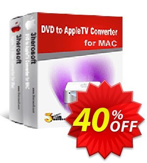 3herosoft DVD to Apple TV Suite for Mac discount coupon 3herosoft DVD to Apple TV Suite for Mac Dreaded promotions code 2020 - Dreaded promotions code of 3herosoft DVD to Apple TV Suite for Mac 2020