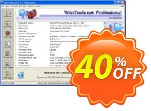 WinTools.net Professional Coupon discount WinTools.net Professional Staggering discount code 2020. Promotion: Staggering discount code of WinTools.net Professional 2020