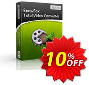 SnowFox Total Video Converter discount coupon SnowFox Total Video Converter Imposing promo code 2020 - Imposing promo code of SnowFox Total Video Converter 2020