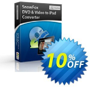 SnowFox iPad Video Converter Pro 프로모션 코드 SnowFox iPad Video Converter Pro Dreaded offer code 2020 프로모션: Dreaded offer code of SnowFox iPad Video Converter Pro 2020