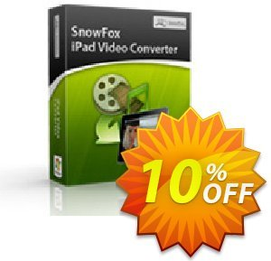 SnowFox iPad Video Converter discount coupon SnowFox iPad Video Converter Marvelous promo code 2020 - Marvelous promo code of SnowFox iPad Video Converter 2020