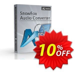 SnowFox Audio Converter 프로모션 코드 SnowFox Audio Converter Awful sales code 2020 프로모션: Awful sales code of SnowFox Audio Converter 2020