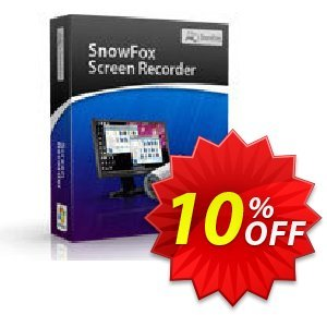 SnowFox Screen Recorder Coupon, discount SnowFox Screen Recorder Amazing deals code 2020. Promotion: Amazing deals code of SnowFox Screen Recorder 2020