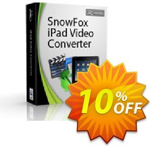 SnowFox iPad Video Converter for Mac 프로모션 코드 SnowFox iPad Video Converter for Mac Awful discount code 2020 프로모션: Awful discount code of SnowFox iPad Video Converter for Mac 2020