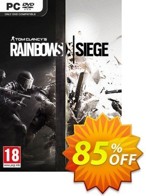 Tom Clancy's Rainbow Six Siege PC 優惠券,折扣碼 Tom Clancy's Rainbow Six Siege PC Deal,促銷代碼: Tom Clancy's Rainbow Six Siege PC Exclusive offer for iVoicesoft