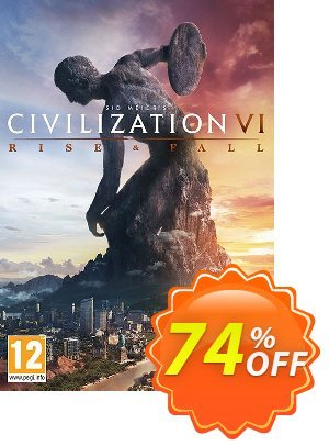 Sid Meier's Civilization VI 6 PC - Rise and Fall DLC (EU) discount coupon Sid Meier's Civilization VI 6 PC - Rise and Fall DLC (EU) Deal - Sid Meier's Civilization VI 6 PC - Rise and Fall DLC (EU) Exclusive offer for iVoicesoft