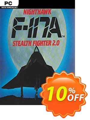F117A Nighthawk Stealth Fighter 2.0 PC Coupon, discount F117A Nighthawk Stealth Fighter 2.0 PC Deal. Promotion: F117A Nighthawk Stealth Fighter 2.0 PC Exclusive offer for iVoicesoft