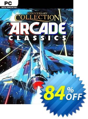 Anniversary Collection Arcade Classics PC 優惠券,折扣碼 Anniversary Collection Arcade Classics PC Deal,促銷代碼: Anniversary Collection Arcade Classics PC Exclusive offer for iVoicesoft
