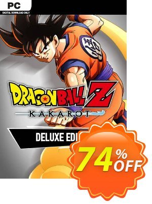 Dragon Ball Z: Kakarot Deluxe Edition PC discount coupon Dragon Ball Z: Kakarot Deluxe Edition PC Deal - Dragon Ball Z: Kakarot Deluxe Edition PC Exclusive offer for iVoicesoft