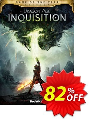 Dragon Age Inquisition - Game of the Year Edition PC Coupon discount Dragon Age Inquisition - Game of the Year Edition PC Deal. Promotion: Dragon Age Inquisition - Game of the Year Edition PC Exclusive offer for iVoicesoft