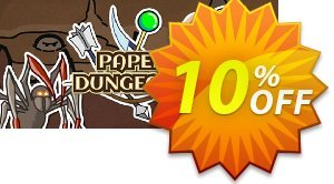 Paper Dungeons PC 優惠券,折扣碼 Paper Dungeons PC Deal,促銷代碼: Paper Dungeons PC Exclusive offer for iVoicesoft