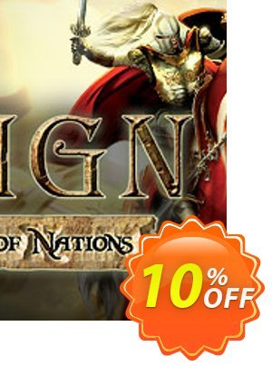 Reign Conflict of Nations PC 프로모션 코드 Reign Conflict of Nations PC Deal 프로모션: Reign Conflict of Nations PC Exclusive offer for iVoicesoft