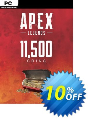 Apex Legends 11500 Coins VC PC discount coupon Apex Legends 11500 Coins VC PC Deal - Apex Legends 11500 Coins VC PC Exclusive offer for iVoicesoft