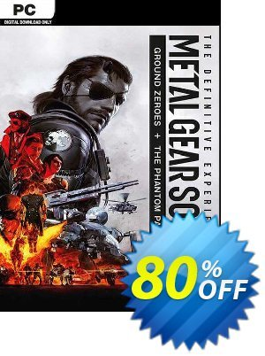 Metal Gear Solid V 5 Definitive Experience PC Coupon, discount Metal Gear Solid V 5 Definitive Experience PC Deal. Promotion: Metal Gear Solid V 5 Definitive Experience PC Exclusive offer for iVoicesoft