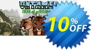 Untamed Life Of A Cougar PC 優惠券,折扣碼 Untamed Life Of A Cougar PC Deal,促銷代碼: Untamed Life Of A Cougar PC Exclusive offer for iVoicesoft