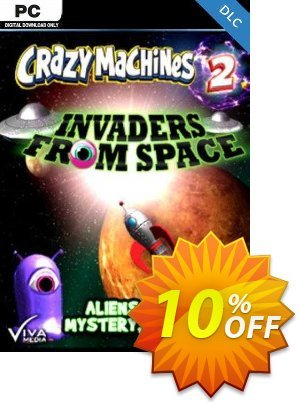 Crazy Machines 2 Invaders from Space PC 優惠券,折扣碼 Crazy Machines 2 Invaders from Space PC Deal,促銷代碼: Crazy Machines 2 Invaders from Space PC Exclusive offer for iVoicesoft