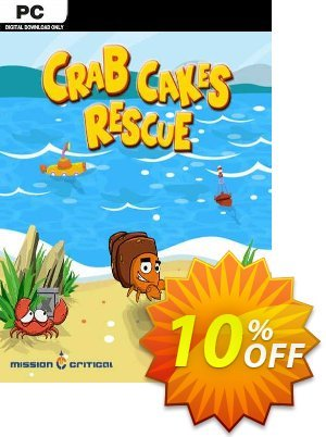 Crab Cakes Rescue PC 프로모션 코드 Crab Cakes Rescue PC Deal 프로모션: Crab Cakes Rescue PC Exclusive offer for iVoicesoft