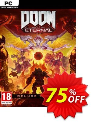 DOOM Eternal Deluxe Edition PC discount coupon DOOM Eternal Deluxe Edition PC Deal - DOOM Eternal Deluxe Edition PC Exclusive offer for iVoicesoft