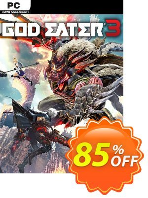 God Eater 3 PC Coupon discount God Eater 3 PC Deal. Promotion: God Eater 3 PC Exclusive offer for iVoicesoft