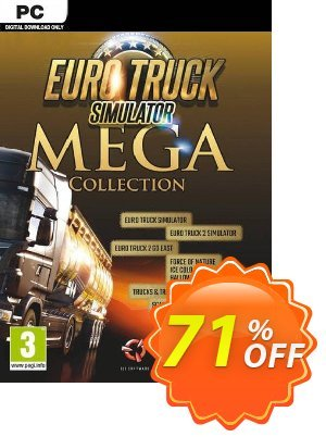 Euro Truck Simulator: Mega Collection PC discount coupon Euro Truck Simulator: Mega Collection PC Deal - Euro Truck Simulator: Mega Collection PC Exclusive offer for iVoicesoft
