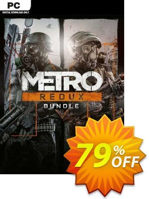 Metro Redux Bundle PC Coupon, discount Metro Redux Bundle PC Deal. Promotion: Metro Redux Bundle PC Exclusive offer for iVoicesoft