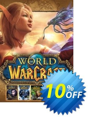 World Of Warcraft Battle Chest PC/Mac Coupon, discount World Of Warcraft Battle Chest PC/Mac Deal. Promotion: World Of Warcraft Battle Chest PC/Mac Exclusive offer for iVoicesoft