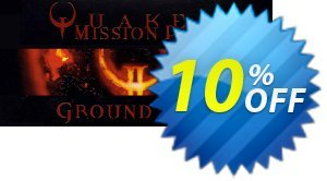 QUAKE II Mission Pack Ground Zero PC割引コード・QUAKE II Mission Pack Ground Zero PC Deal キャンペーン:QUAKE II Mission Pack Ground Zero PC Exclusive offer for iVoicesoft