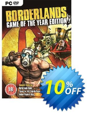 Borderlands: Game of the Year Edition PC (EU) Coupon, discount Borderlands: Game of the Year Edition PC (EU) Deal. Promotion: Borderlands: Game of the Year Edition PC (EU) Exclusive offer for iVoicesoft
