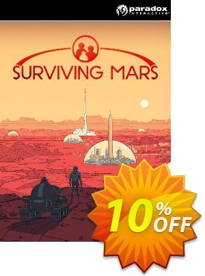 Surviving Mars PC Coupon, discount Surviving Mars PC Deal. Promotion: Surviving Mars PC Exclusive offer for iVoicesoft