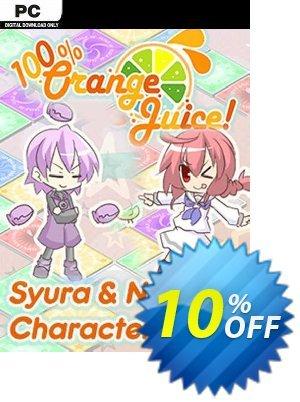 100% Orange Juice Syura & Nanako Character Pack PC 프로모션 코드 100% Orange Juice Syura & Nanako Character Pack PC Deal 프로모션: 100% Orange Juice Syura & Nanako Character Pack PC Exclusive offer for iVoicesoft