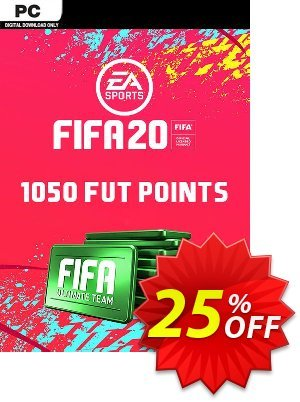 FIFA 20 Ultimate Team - 1050 FIFA Points PC discount coupon FIFA 20 Ultimate Team - 1050 FIFA Points PC Deal - FIFA 20 Ultimate Team - 1050 FIFA Points PC Exclusive offer for iVoicesoft