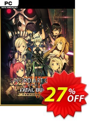 Sword Art Online Fatal Bullet - Complete Edition PC 프로모션 코드 Sword Art Online Fatal Bullet - Complete Edition PC Deal 프로모션: Sword Art Online Fatal Bullet - Complete Edition PC Exclusive offer for iVoicesoft