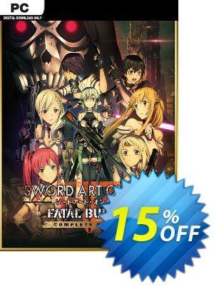 Sword Art Online Fatal Bullet - Complete Edition PC Coupon discount Sword Art Online Fatal Bullet - Complete Edition PC Deal. Promotion: Sword Art Online Fatal Bullet - Complete Edition PC Exclusive offer for iVoicesoft