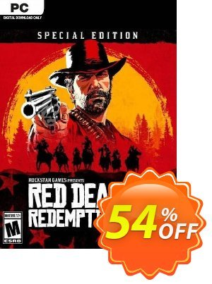 Red Dead Redemption 2 - Special Edition PC discount coupon Red Dead Redemption 2 - Special Edition PC Deal - Red Dead Redemption 2 - Special Edition PC Exclusive offer for iVoicesoft