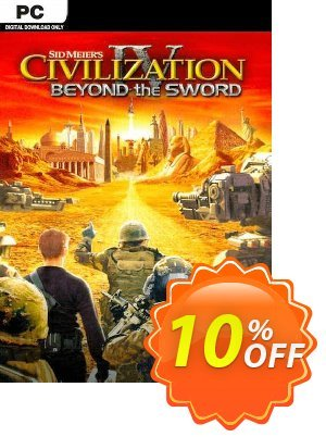 Civilization IV Beyond the Sword PC 프로모션 코드 Civilization IV Beyond the Sword PC Deal 프로모션: Civilization IV Beyond the Sword PC Exclusive offer for iVoicesoft