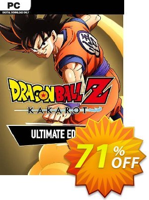 Dragon Ball Z: Kakarot Ultimate Edition PC Coupon discount Dragon Ball Z: Kakarot Ultimate Edition PC Deal. Promotion: Dragon Ball Z: Kakarot Ultimate Edition PC Exclusive offer for iVoicesoft