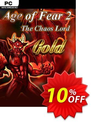 Age of Fear 2 The Chaos Lord GOLD PC 프로모션 코드 Age of Fear 2 The Chaos Lord GOLD PC Deal 프로모션: Age of Fear 2 The Chaos Lord GOLD PC Exclusive offer for iVoicesoft