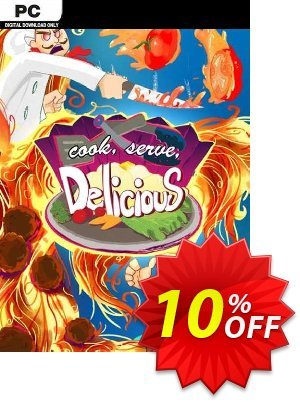 Cook Serve Delicious! PC Coupon discount Cook Serve Delicious! PC Deal. Promotion: Cook Serve Delicious! PC Exclusive offer for iVoicesoft