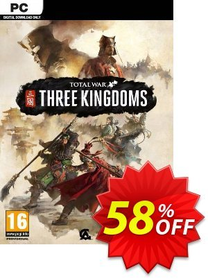 Total War: Three Kingdoms PC (EU) 優惠券,折扣碼 Total War: Three Kingdoms PC (EU) Deal,促銷代碼: Total War: Three Kingdoms PC (EU) Exclusive offer for iVoicesoft
