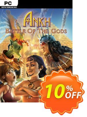 Ankh 3 Battle of the Gods PC Coupon discount Ankh 3 Battle of the Gods PC Deal - Ankh 3 Battle of the Gods PC Exclusive offer for iVoicesoft