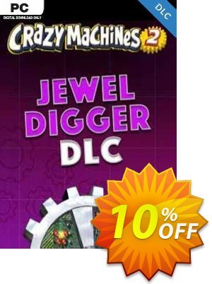 Crazy Machines 2 Jewel Digger DLC PC Coupon discount Crazy Machines 2 Jewel Digger DLC PC Deal - Crazy Machines 2 Jewel Digger DLC PC Exclusive offer for iVoicesoft