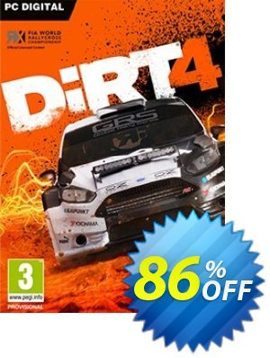 Dirt 4 PC Coupon, discount Dirt 4 PC Deal. Promotion: Dirt 4 PC Exclusive offer for iVoicesoft