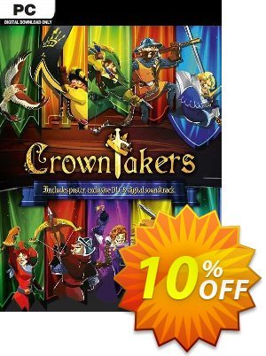 Crowntakers PC 優惠券,折扣碼 Crowntakers PC Deal,促銷代碼: Crowntakers PC Exclusive offer for iVoicesoft