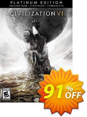 Sid Meiers Civilization VI 6: Platinum Edition PC (WW) discount coupon Sid Meiers Civilization VI 6: Platinum Edition PC (WW) Deal - Sid Meiers Civilization VI 6: Platinum Edition PC (WW) Exclusive offer for iVoicesoft