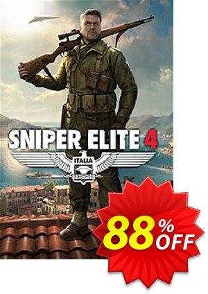 Sniper Elite 4 PC discount coupon Sniper Elite 4 PC Deal - Sniper Elite 4 PC Exclusive offer for iVoicesoft