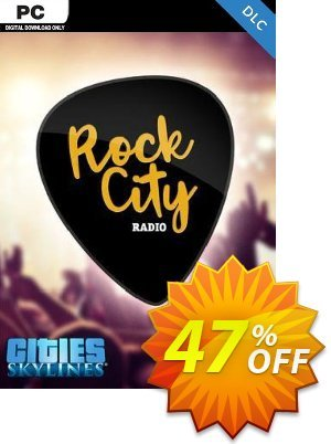 Cities Skylines - Rock City Radio DLC discount coupon Cities Skylines - Rock City Radio DLC Deal - Cities Skylines - Rock City Radio DLC Exclusive offer for iVoicesoft